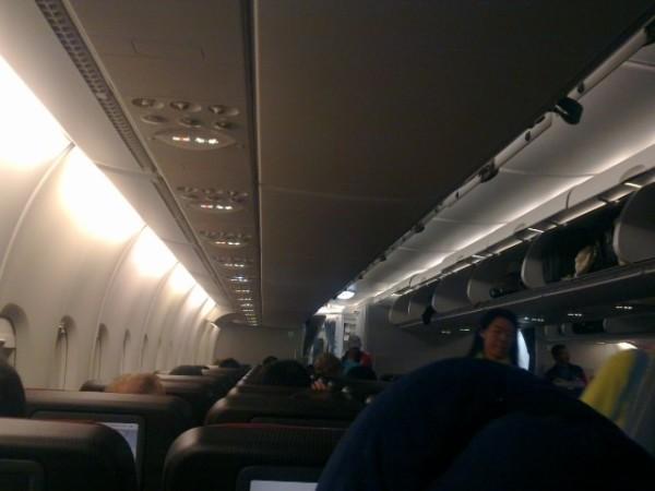 飞机起飞前的2小时,在汉堡王吃过午饭后