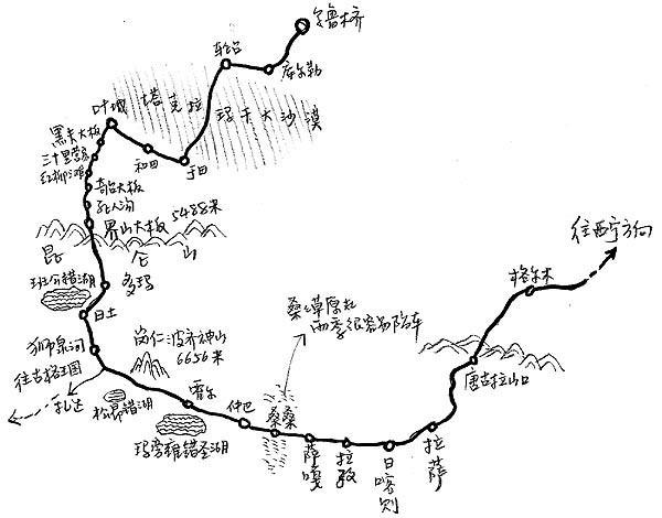 地图 简笔画 手绘 线稿 600_470