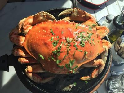海鲜大餐 摄于:涠洲岛 春节遇见涠洲岛,最美的回忆就是那顿海鲜大餐.