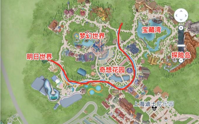 """记— """"在上海迪士尼泪奔的三天""""!(附重要项目的视频!图片"""