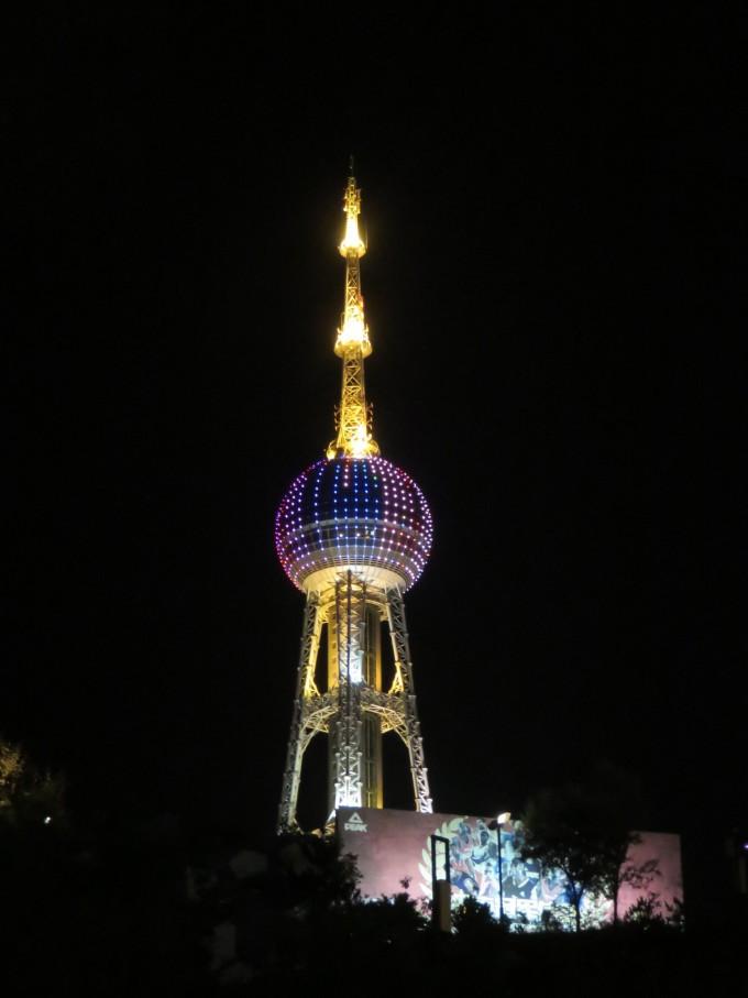 于一体的电视塔,是浦东援建西宁的又一项重点工程