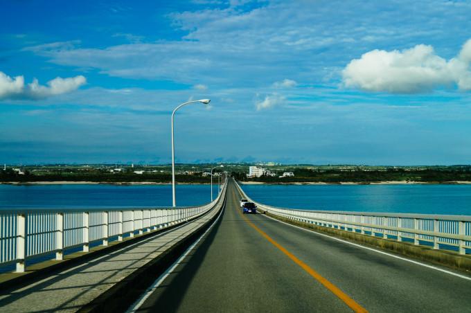 东海大桥附近海边