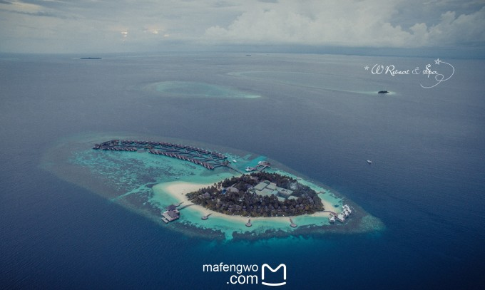 醉美天堂》——马尔代夫w宁静岛(附航拍)