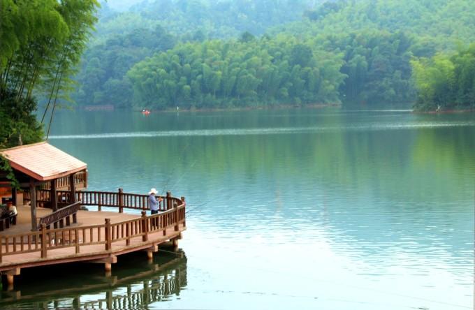 贵州赤水天岛湖