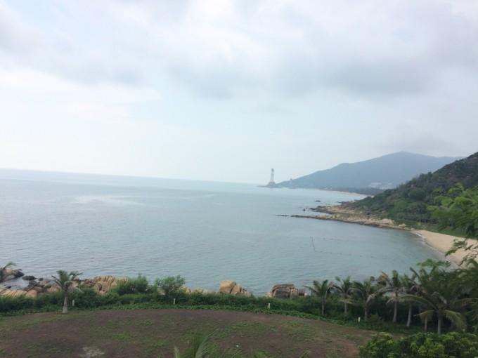 三亚雨天风景图片