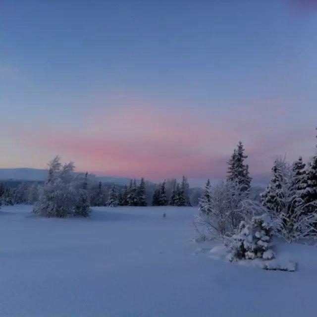 北极夜晚风景高清1980